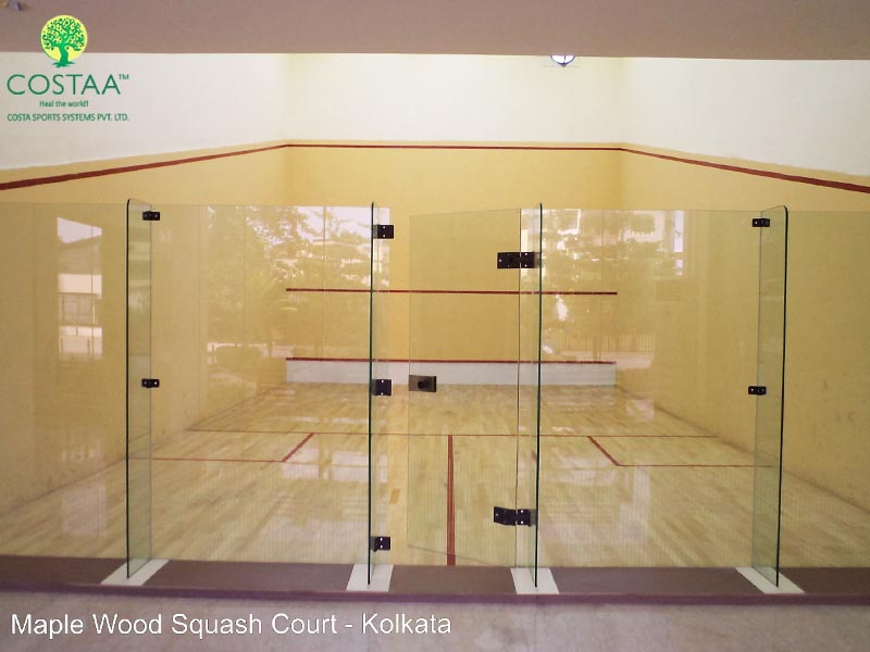 Glass Back Wall for Squash Court – Costa Sports Systems Pvt. Ltd.
