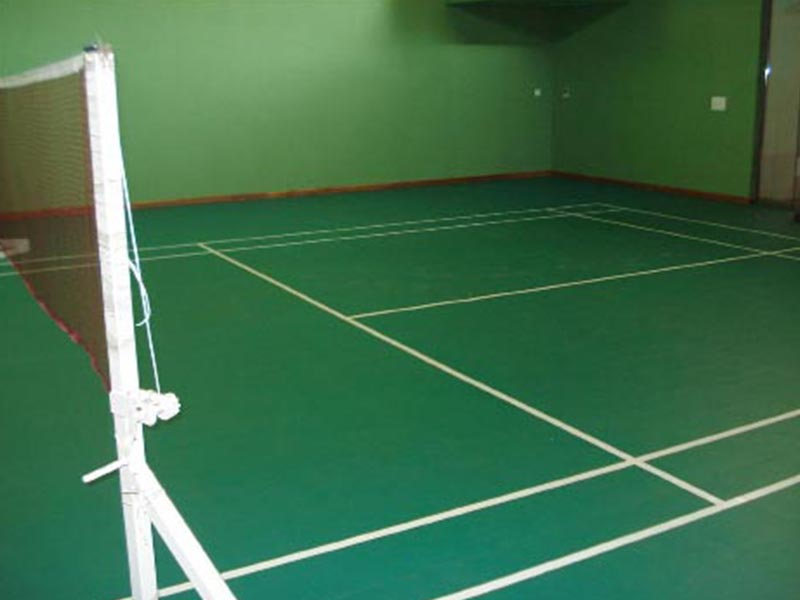 Synthetic Flooring Badminton Court Costa Sports Systems