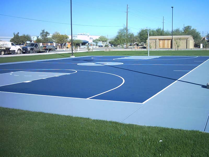 Synthetic Flooring Of Multipurpose Court Costa Sports