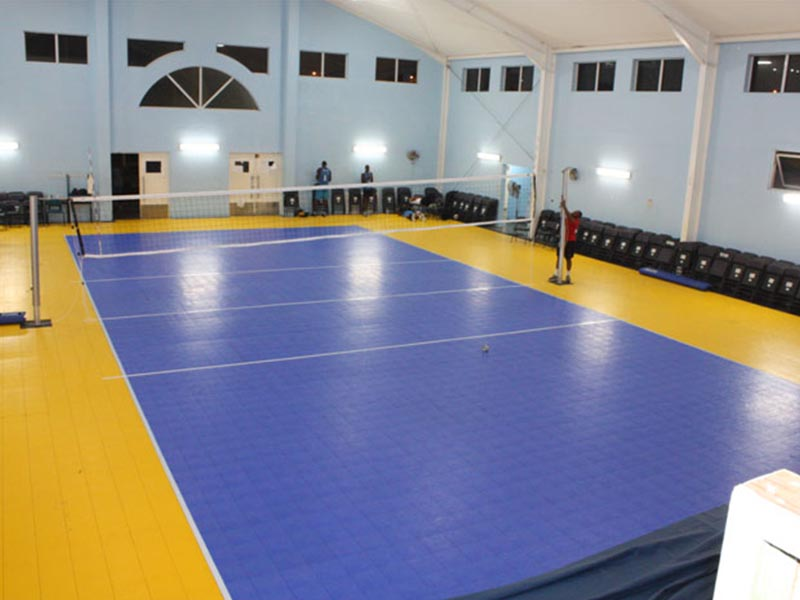 Synthetic Flooring Of Volleyball Court Costa Sports