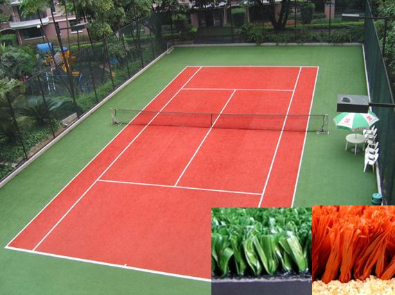 Surfaced Lawn Tennis Court